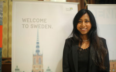 Visit Sweden at Destination Sweden, with Ruth Dola